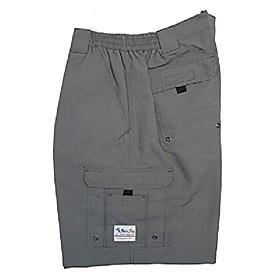 butamp; #39;s boca grande ii with bloodguard nylon short, gray, 30