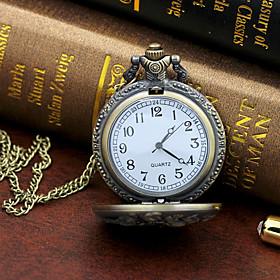 Men's Dress Watch Quartz Stylish Casual Large Dial Analog Bronze / One Year / Titanium Alloy
