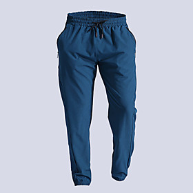 Men's Joggers Jogger Pants Athletic Bottoms Drawstring Fitness Gym Workout Performance Running Training Breathable Quick Dry Soft Normal Sport Black Dark Navy