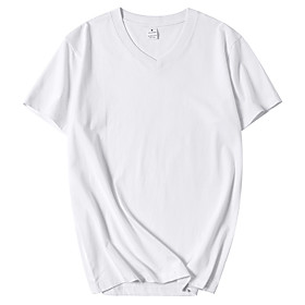 men's big amp; tall 2-pack short-sleeve v-neck t-shirt fit by dxl shirt, -charcoal heather/burgundy, 3x tall