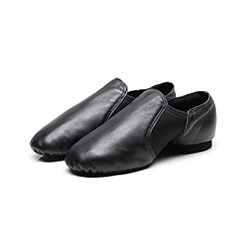 Women's Dance Shoes Ballet Shoes / Modern Shoes / Practice Trainning Dance Shoes Flat Flat Heel Black / Brown / Performance