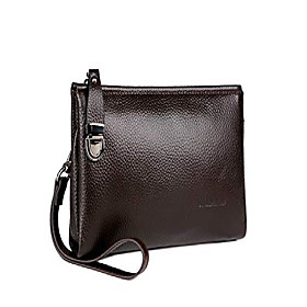 men's clutch bag handbags genuine leather wallets business organizer purse