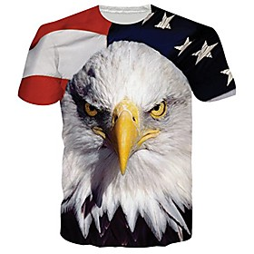 unisexe 3d galaxie loup imprimé hipster nouveauté t-shirts t-shirts l Tissu:Polyester; Taille Spéciale:Grandes Tailles; date d'inscription:09/15/2020; Produits spéciaux sélectionnés:COD