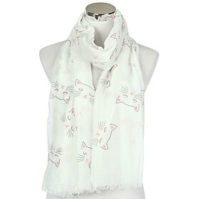 Women's Active Rectangle Scarf - Striped Washable