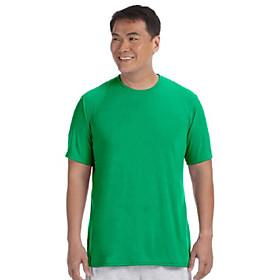men's core performance t-shirt. (irish green) (3x-large)