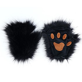 Unisex 1 Pair Party / Basic Half Finger Gloves - Solid Colored