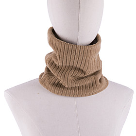 Women's Active Infinity Scarf - Solid Colored Washable