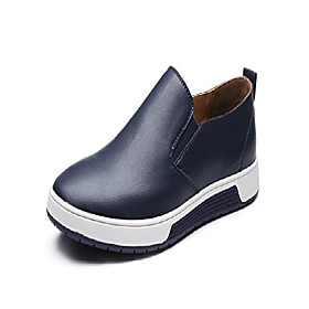 men's casual british style slip on loafers flats business oxfords shoes blue us 11
