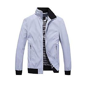 men's casual jacket lightweight bomber jackets slim fit softshell windbreakers