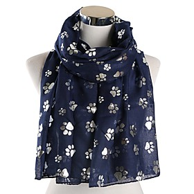 Women's Active Rectangle Scarf - Floral Washable