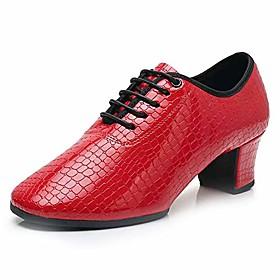 womenamp; #39;s ballroom dance shoes with chunky heel latin teacher dancing practice shoes split sole,model 701b,us 8