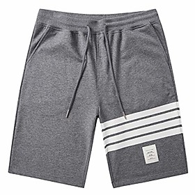 butamp; #39;s shorts casual classic fit summer workout shorts with elastic waist pockets dark gray 2x-large