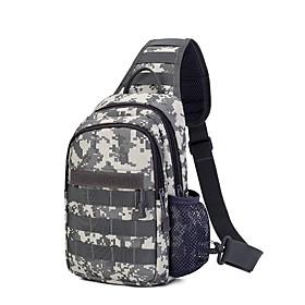 Men's Bags Nylon Sling Shoulder Bag Zipper for Daily / Holiday White / Black / Blue / Army Green