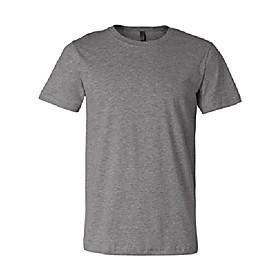 bella  canvas unisex jersey short-sleeve t-shirt, 2xl, deep heather