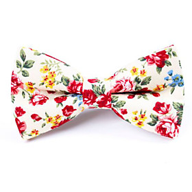 Men's Party / Active / Cute Bow Tie - Floral