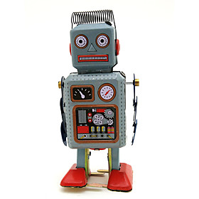 LT.Squishies Wind-up Toy Educational Toy Novelty Warrior Robot Metalic 1 pcs Toy Gift
