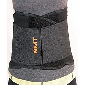 back brace by nmt ~ lumbar support black belt ~ posture corrector ~ arthritis, pain relief, sciatica, scoliosis ~ physical therapy for women-men ~ 4 adjustable
