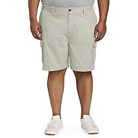 butamp; #39;s big amp; tall cargo short fit by dxl, khaki, 50