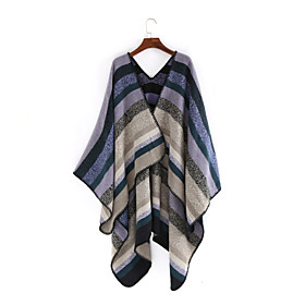 Women's Active Rectangle Scarf - Striped Multifunctional