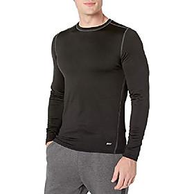 men's control tech thermal long-sleeve shirt, black, xx-large