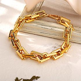 Men's Women's Clear Choker Necklace Necklace Retro Statement Vintage Punk European Chrome Gold Silver 21-50 cm Necklace Jewelry 1pc For Christmas Halloween Str