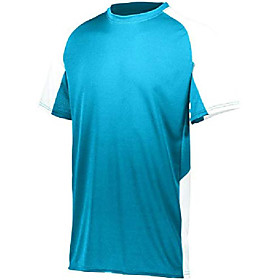cutter jersey, power blue/white, x-large