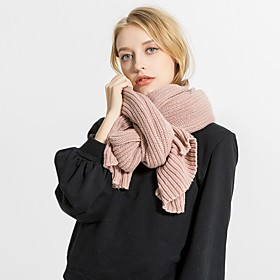 Women's Active Rectangle Scarf - Solid Colored Breathable