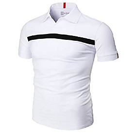 butamp; #39;s casual slim fit polo shirt short sleeve advantage performance with pointed line white us 2xl/asia 3xl amp; # 40; cmtts253amp; #41;