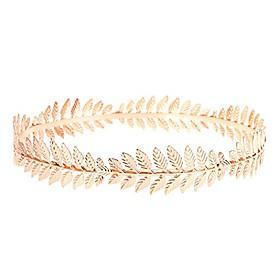 roman emperor crown laurel wreath gold leaf headband costume party accessory caesar circlet