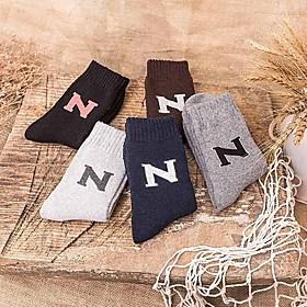 Men's Warm Socks - Geometric Multi color One-Size