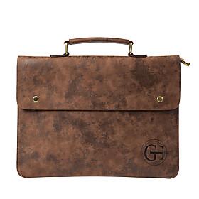 Men's Bags PU Leather Laptop Bag / Briefcase / Top Handle Bag Belt Zipper for Office  Career Coffee