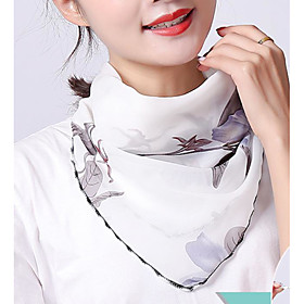 Women's Active Square Scarf - Graphic Washable