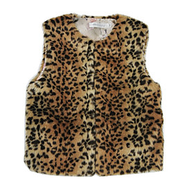 Kids Girls' Basic Dinosaur Leopard Print Sleeveless Tank  Cami Yellow