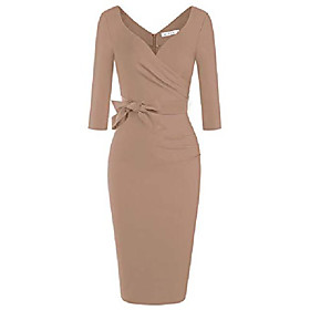 plus size womens dresses special occasion summer cute prime dress with sleeves (camel xxl) Listing Date:09/11/2020