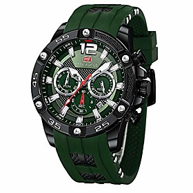 men's sports watch multifunction,waterproof,luminous,calendar silicon strap wrist watch fashion for men