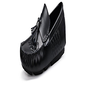men's classy fashion on the go driving casual tassel loafers slip on shoes a black 42