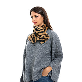 Women's Active Infinity Scarf - Striped Washable