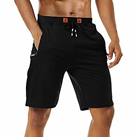 butamp; #39;s shorts casual big tall flat front summer short with zipper pockets black