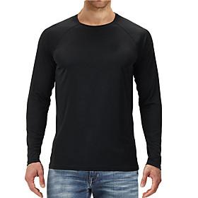 cool dri'performance mens long-sleeve t-shirt,navy,medium