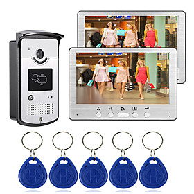 Wired 7 inch Hands-free 800480 Pixel One to One video doorphone