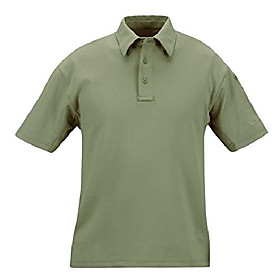 men's i.c.e performance polo-short sleeve, sage green, xx-large