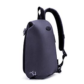 Men's Bags Nylon Sling Shoulder Bag Zipper for Daily / Outdoor Black / Blue