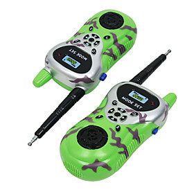 Toy Walkie Talkies Toy Gift Material:Plastic,Plastic; Category:Toy Walkie Talkies; Shipping Weight:0.2; Package Dimensions:24.56.53.5; Net Weight:0.175,0.175; Listing Date:03/25/2019