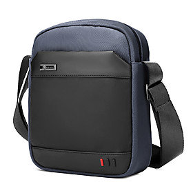 Men's Bags Nylon Crossbody Bag Zipper for Daily / Outdoor Black / Blue / Gray