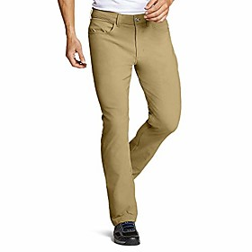 butamp; #39;s horizon guide five-pocket pants - straight fit, aged brass tal