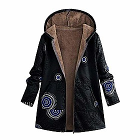 womens floral coats warm faux plush vintage jackets hooded outerwear(xl/14us,black) Listing Date:10/29/2020; Clothing Bust:null; Clothing Sleeve:null; Clothing Shoulder Width:null; Clothing Length:null; Special selected products:PlusSize,COD
