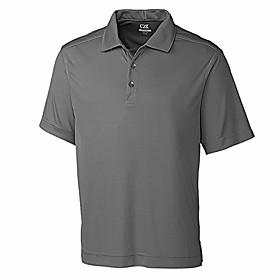 men's big and tall big amp; tall 50 upf northgate polo shirt, elemental grey, 3xlt