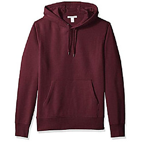 butamp; #39;s hooded fleece sweatshirt, burgundy, x-small