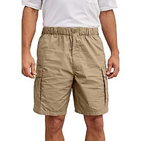 butamp; #39;s big amp; tall moisture wicking cargo shorts - tall-2xl, black