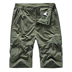 butamp; #39;s outdoor lightweight quick dry hiking shorts sports casual shorts army green us 36